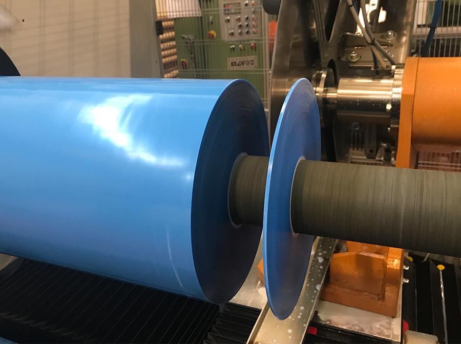 Adhesive tape slitter
