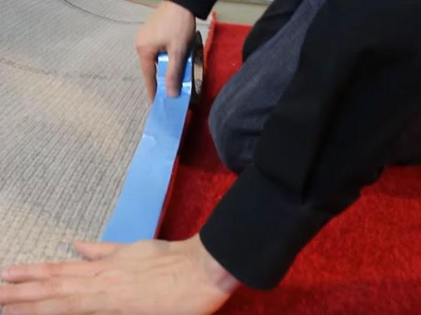 Adhesive for carpet