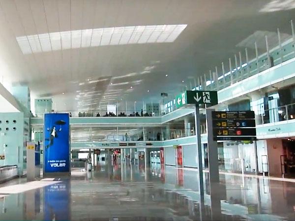 Adhesive tape airport