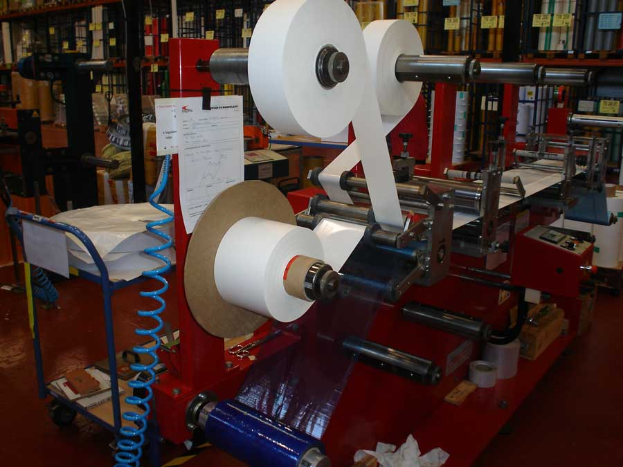 adhesive-tape-laminating-production